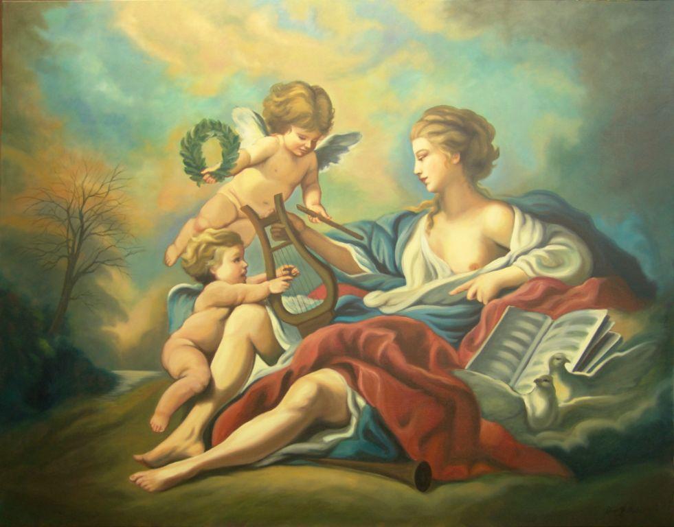 Allegorie-copie-huile-diane-berube