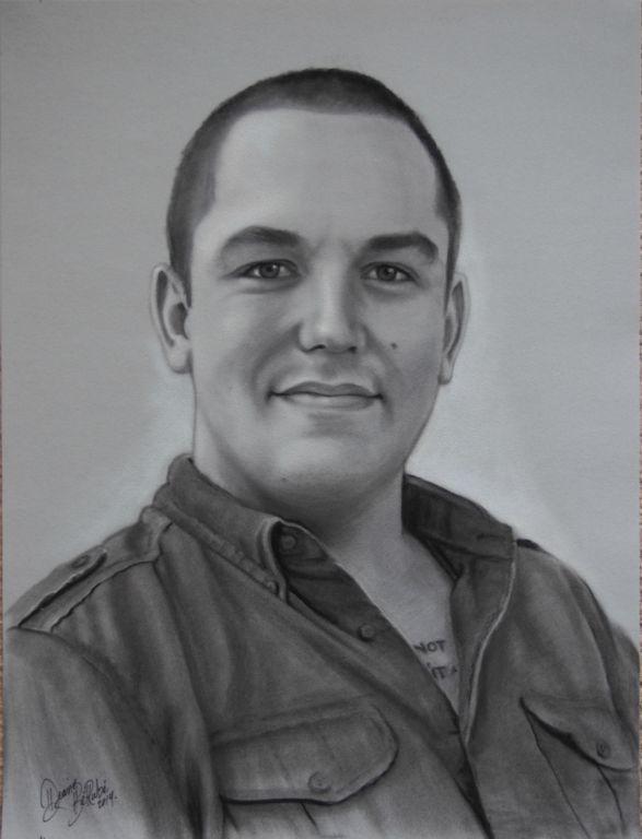 Armee-fusain-portrait-diane-berube