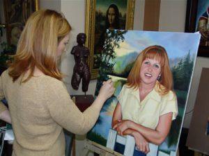 Diane Bérubé portrait Artist