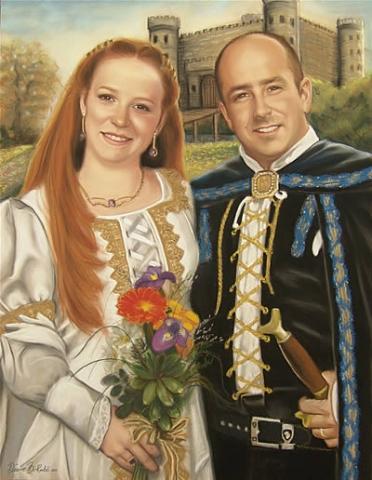 Medieval-pastel-portrait-diane-berube