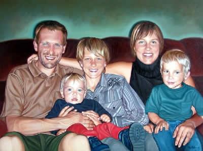Famille-deux-portrait-huile-diane-berube