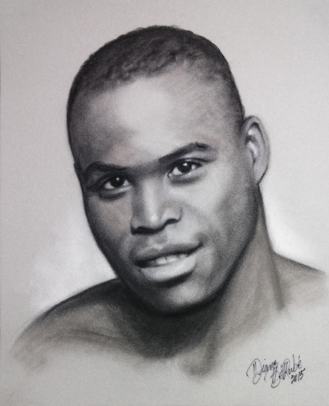 Adonis Stevenson fusain