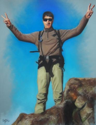 Alpiniste-pastel-portrait-diane-berube