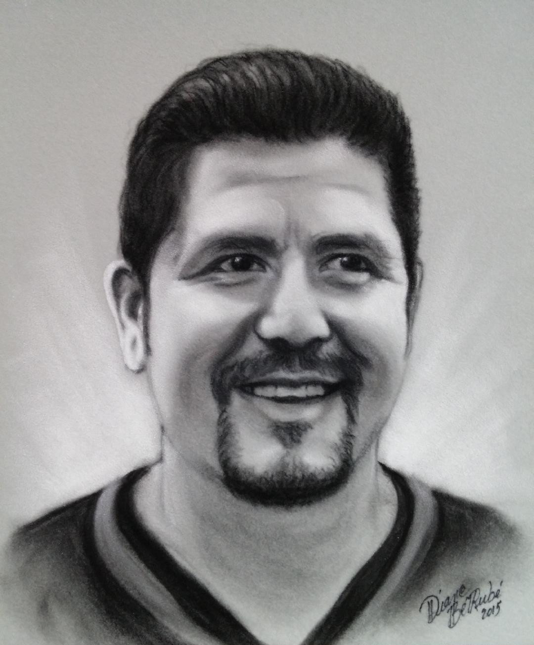 Anthony Calvillo fusain