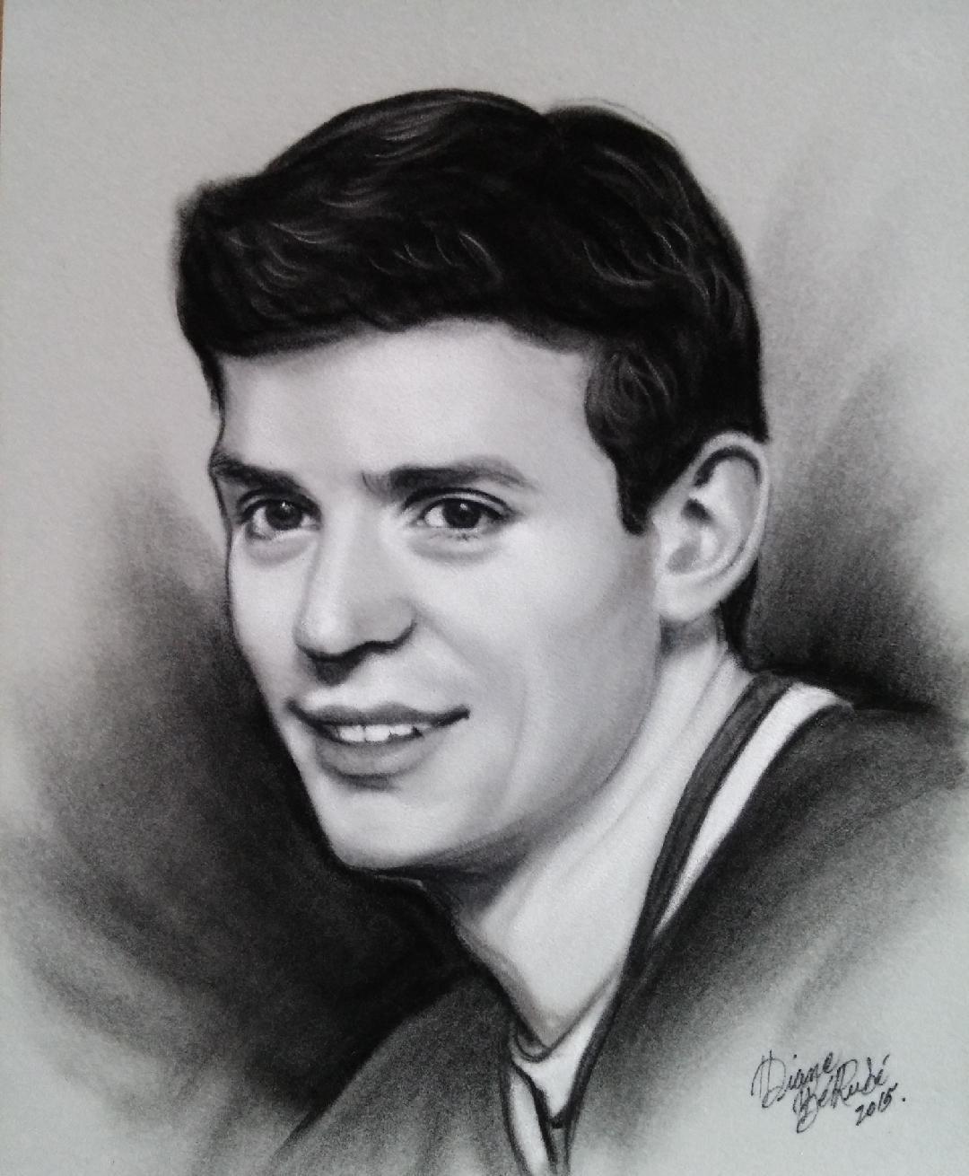Cary Price fusain