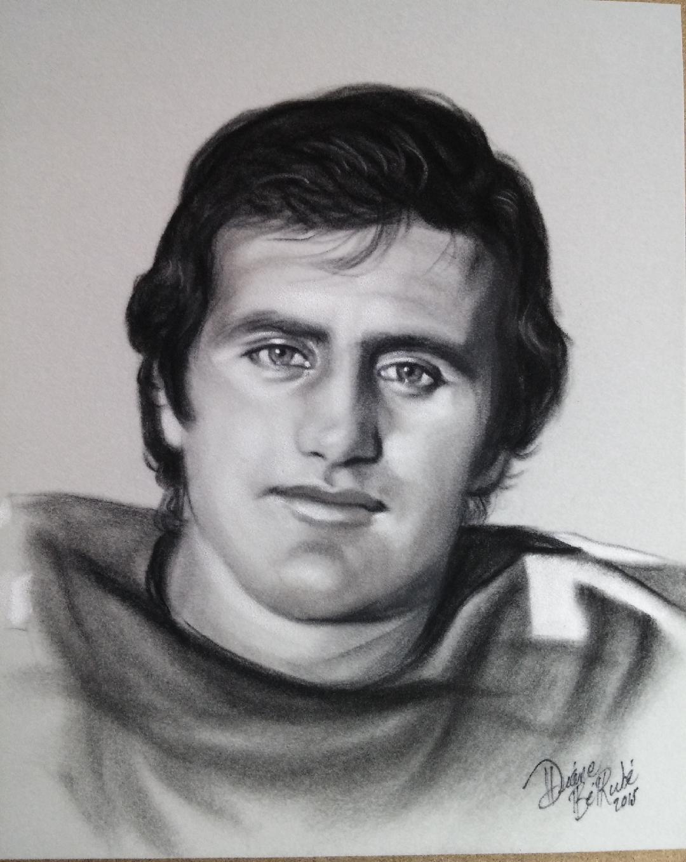 Peter Dallariva fusain