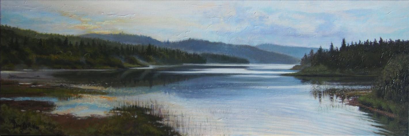 Lac-paysage-huile-diane-berube